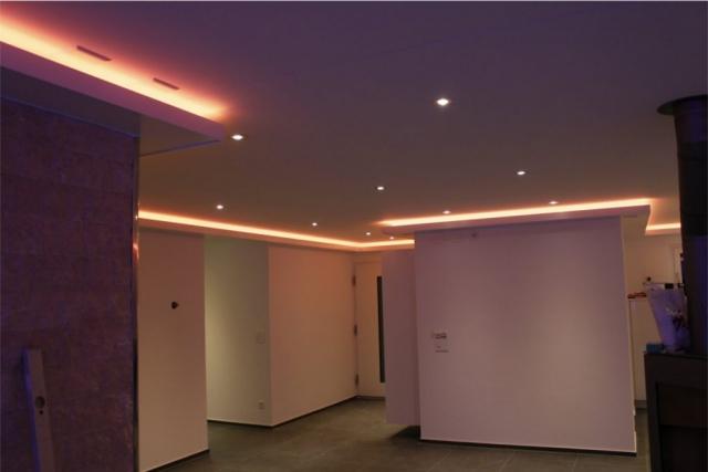 Beleuchtungskonzept / LED Beleuchtung - EFH Niederwil